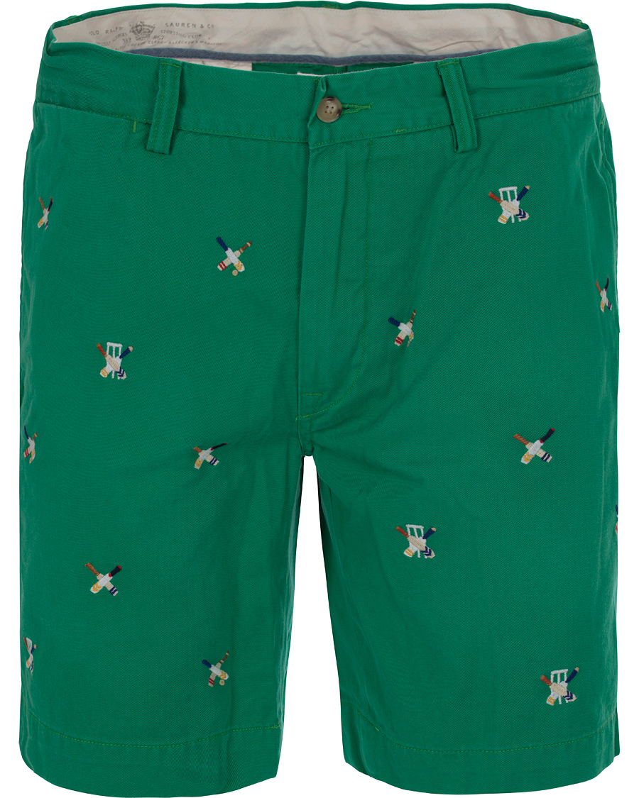 Polo Ralph Lauren Cricket Chino Shorts Academy Green hos CareOfCa ec27b2c57a02f
