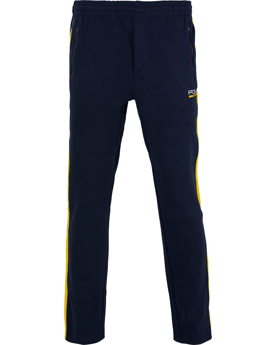polo sport ralph lauren logo striped sweatpants french