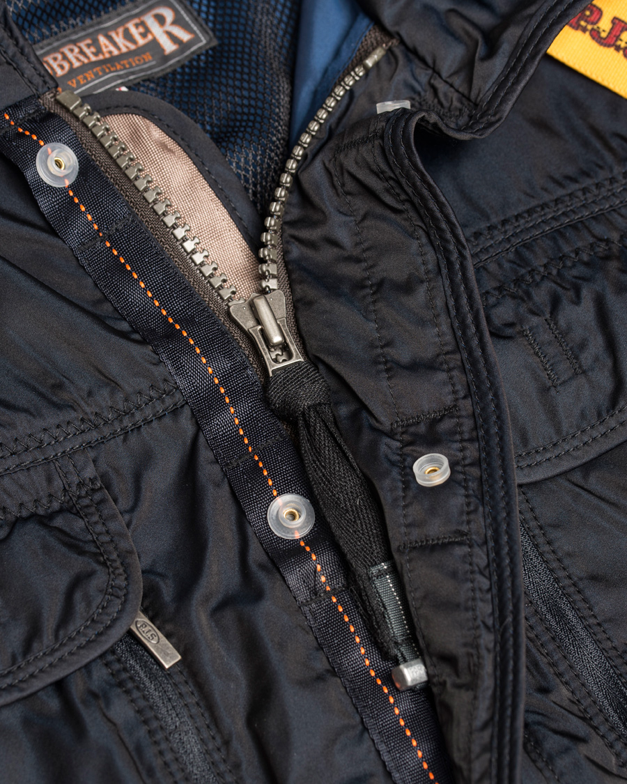 Parajumpers Desert Windbreaker Jacket Navy