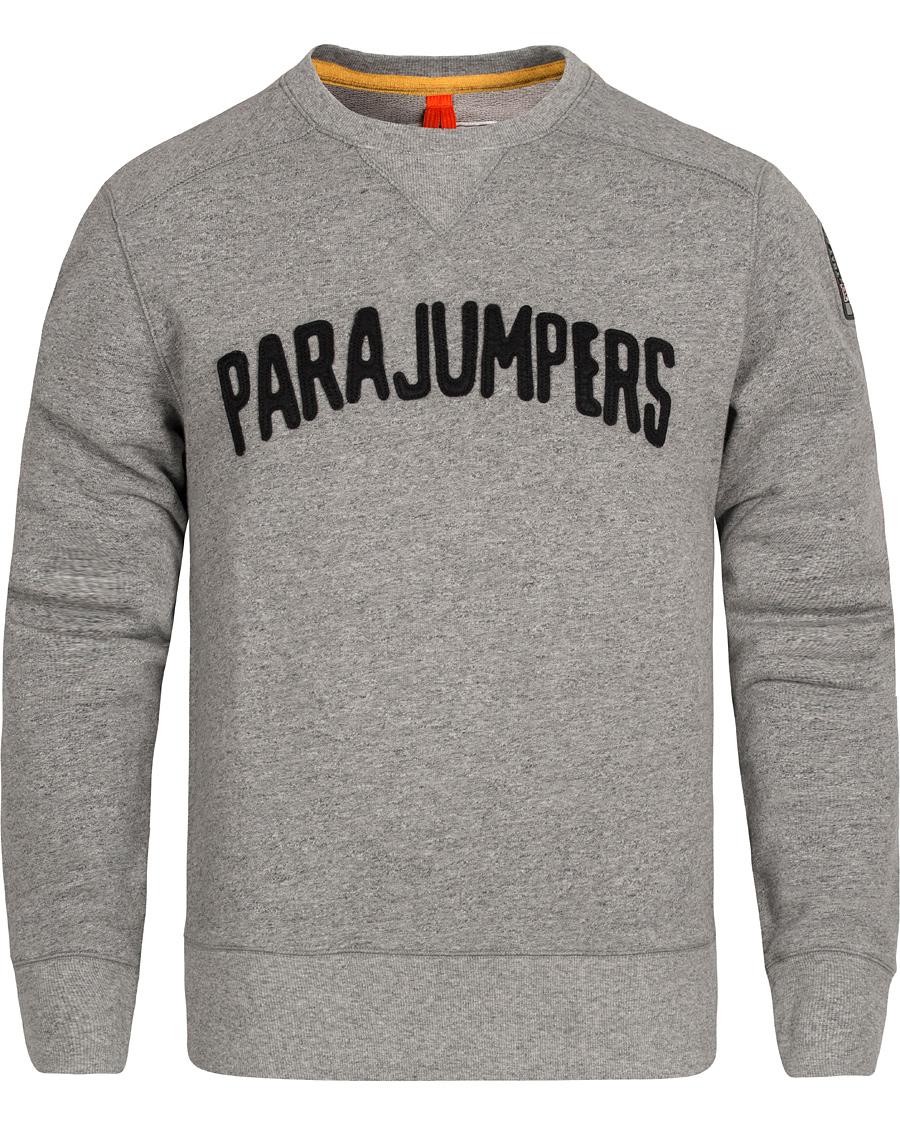 Parajumpers Caleb Cotton Fleece Sweatshirt Steel Melange