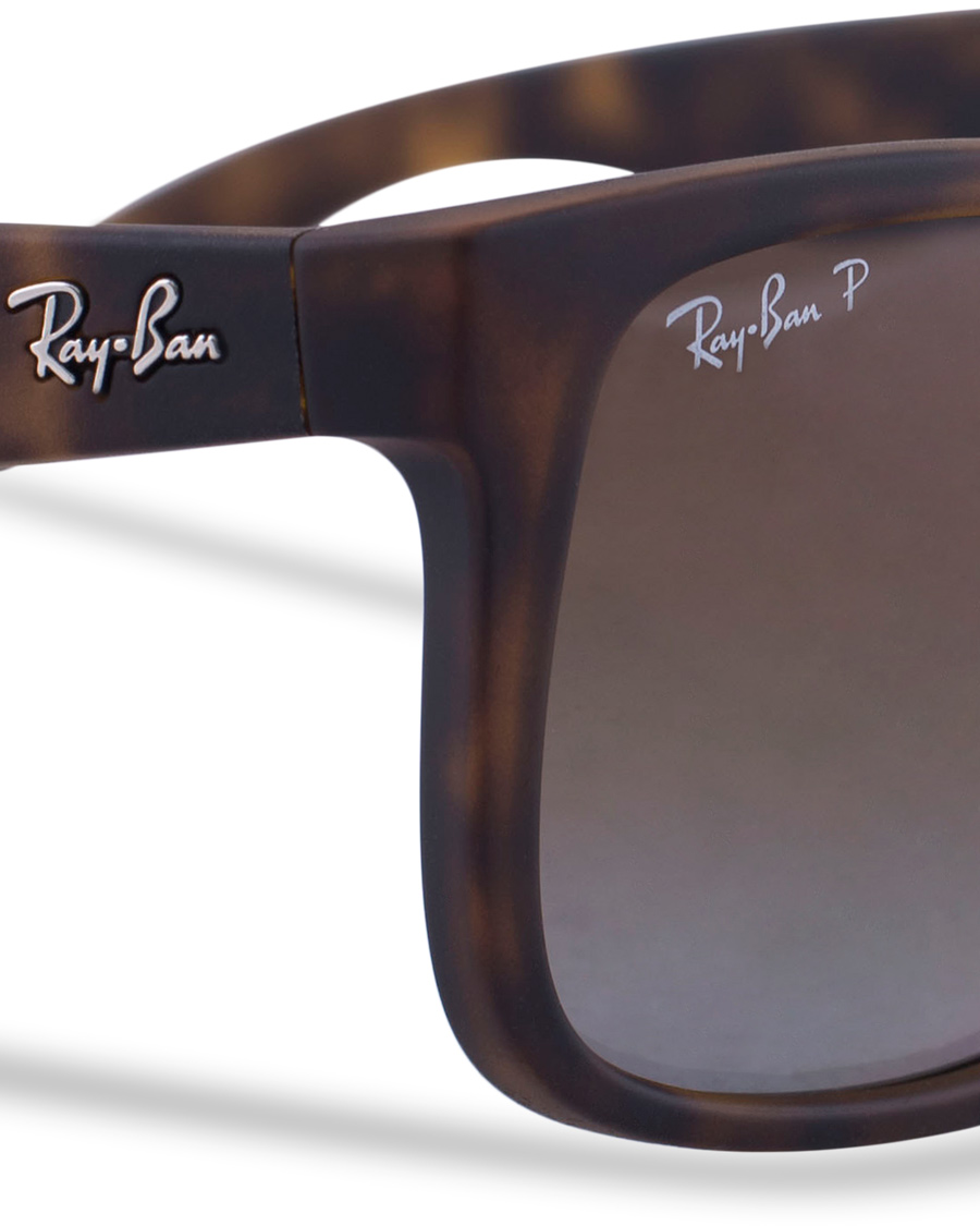 ray ban 0rb4165 justin polarized wayfarer sunglasses. Black Bedroom Furniture Sets. Home Design Ideas