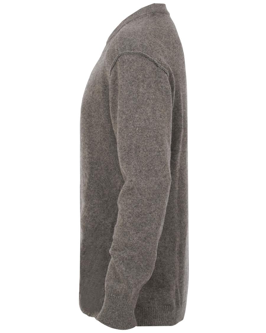 Filippa k organic cotton yak sweater grey melange hos for Garderobe yak