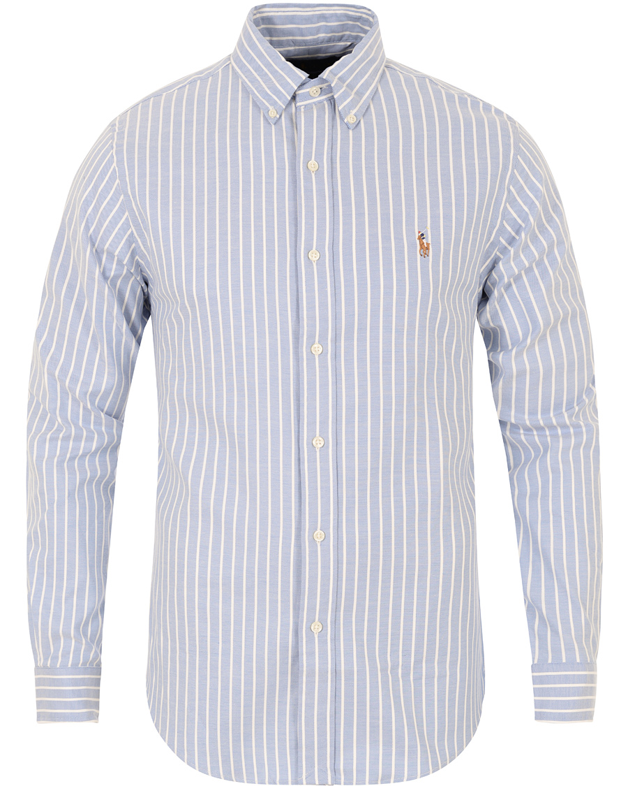 351fd35d0 Polo Ralph Lauren Oxford Shirt Striped Slim Fit