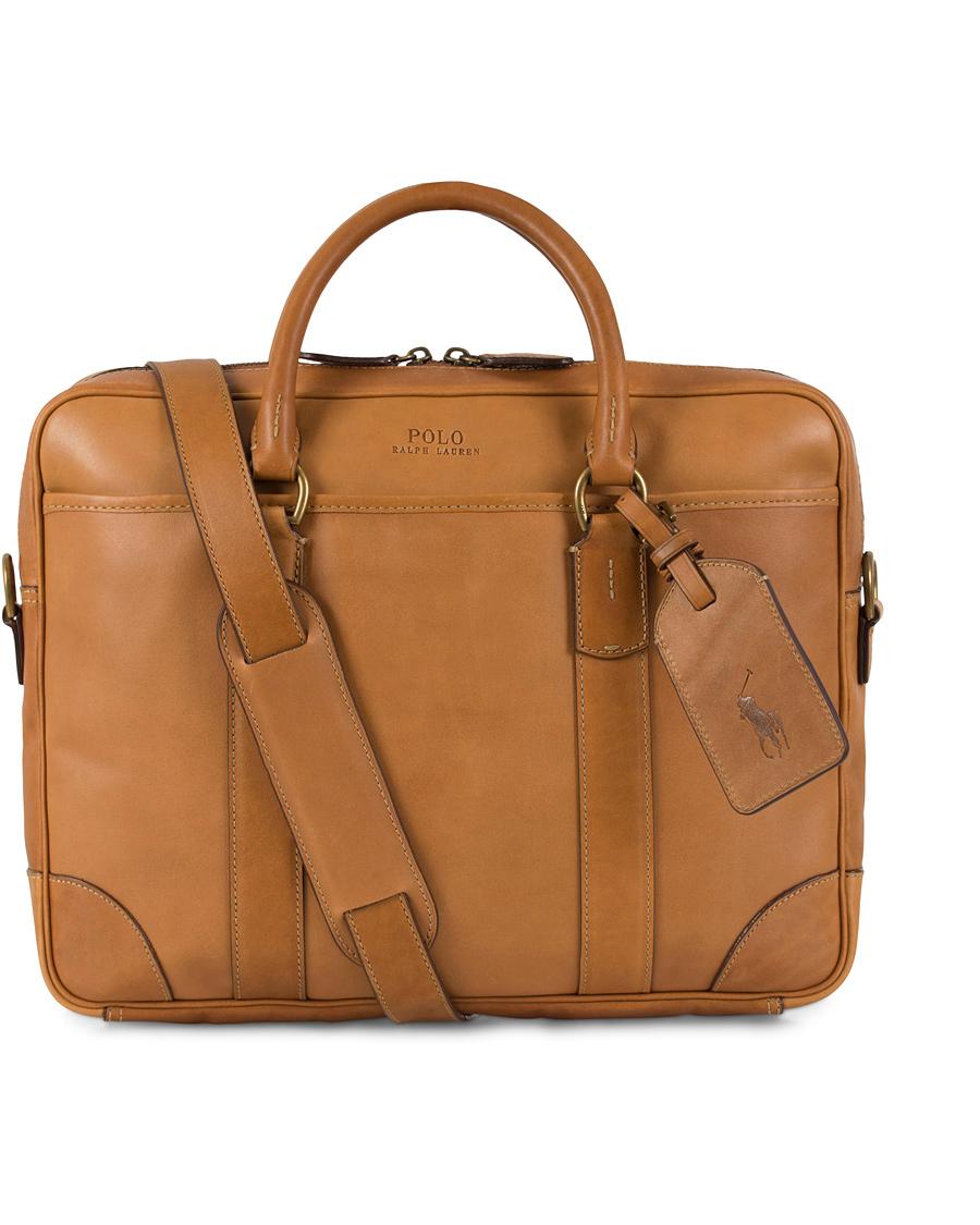 a0a5cbfc202a ... discount code for polo ralph lauren commuter leather bag cognac c366c  91c50