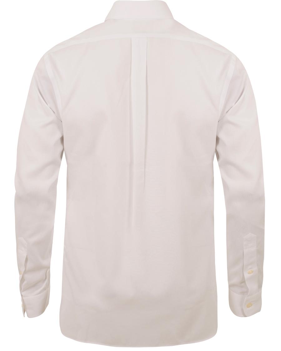 Polo ralph lauren slim fit button down shirt white hos for Slim fit white button down shirt