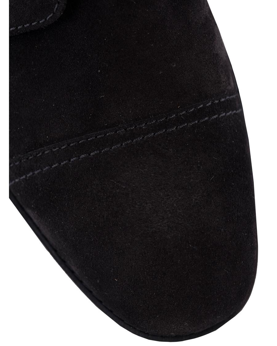 Polo Ralph Lauren Daley Captoe Boot Black Suede