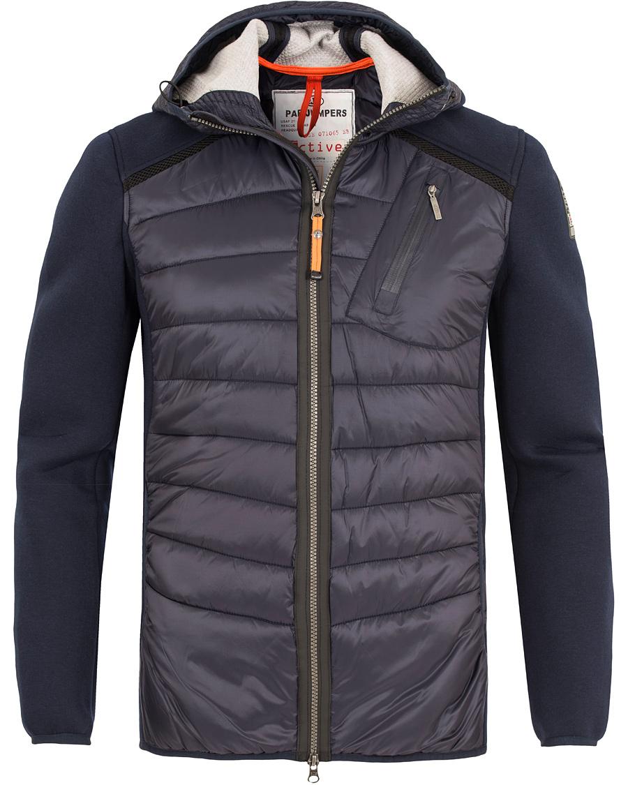 Parajumpers Nolan Active Warm Up Zip Jacket Blue/Black