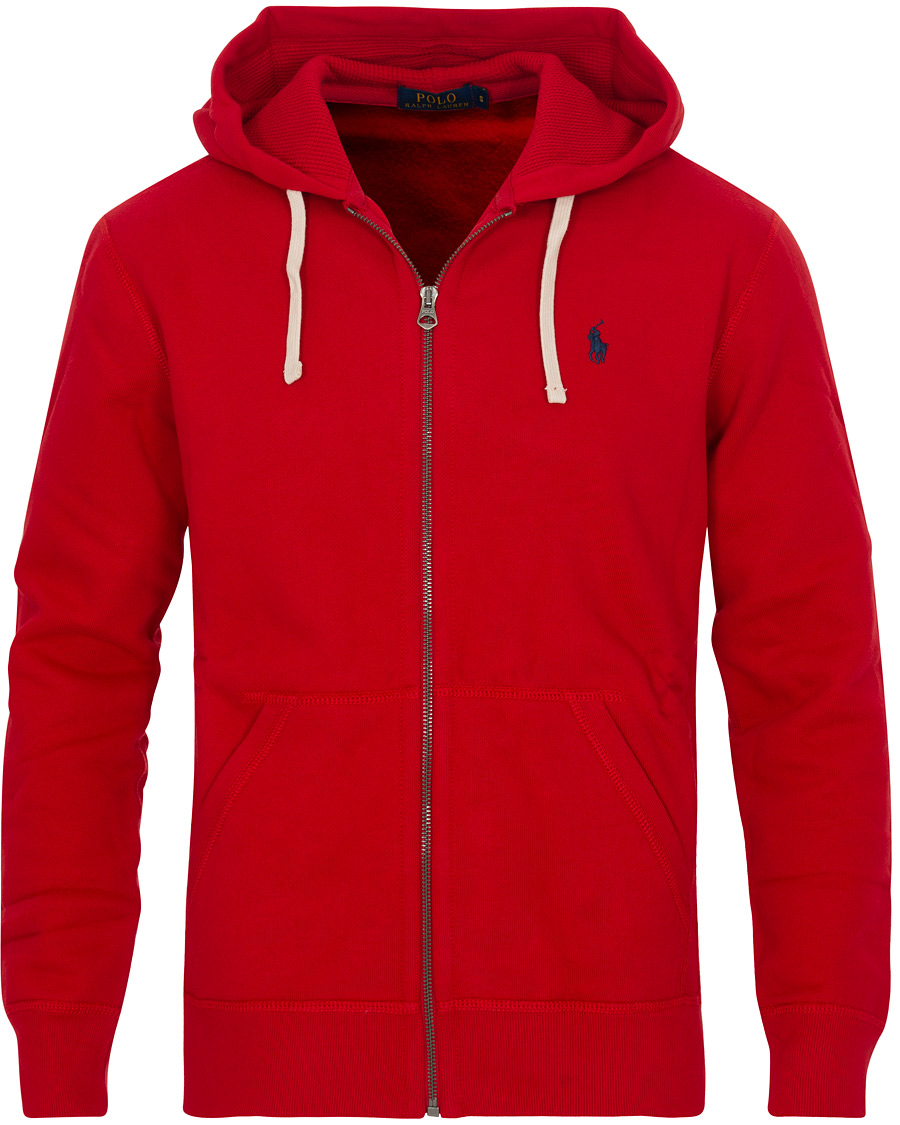 polo ralph lauren full zip hoodie red hos. Black Bedroom Furniture Sets. Home Design Ideas