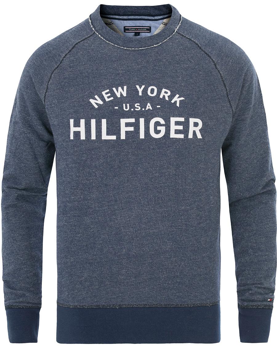 tommy hilfiger lars crew neck sweatshirt medium indigo hos careof. Black Bedroom Furniture Sets. Home Design Ideas