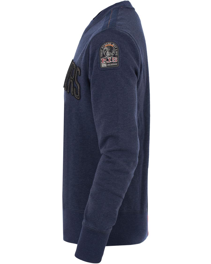 Parajumpers Caleb Cotton Fleece Sweatshirts Navy
