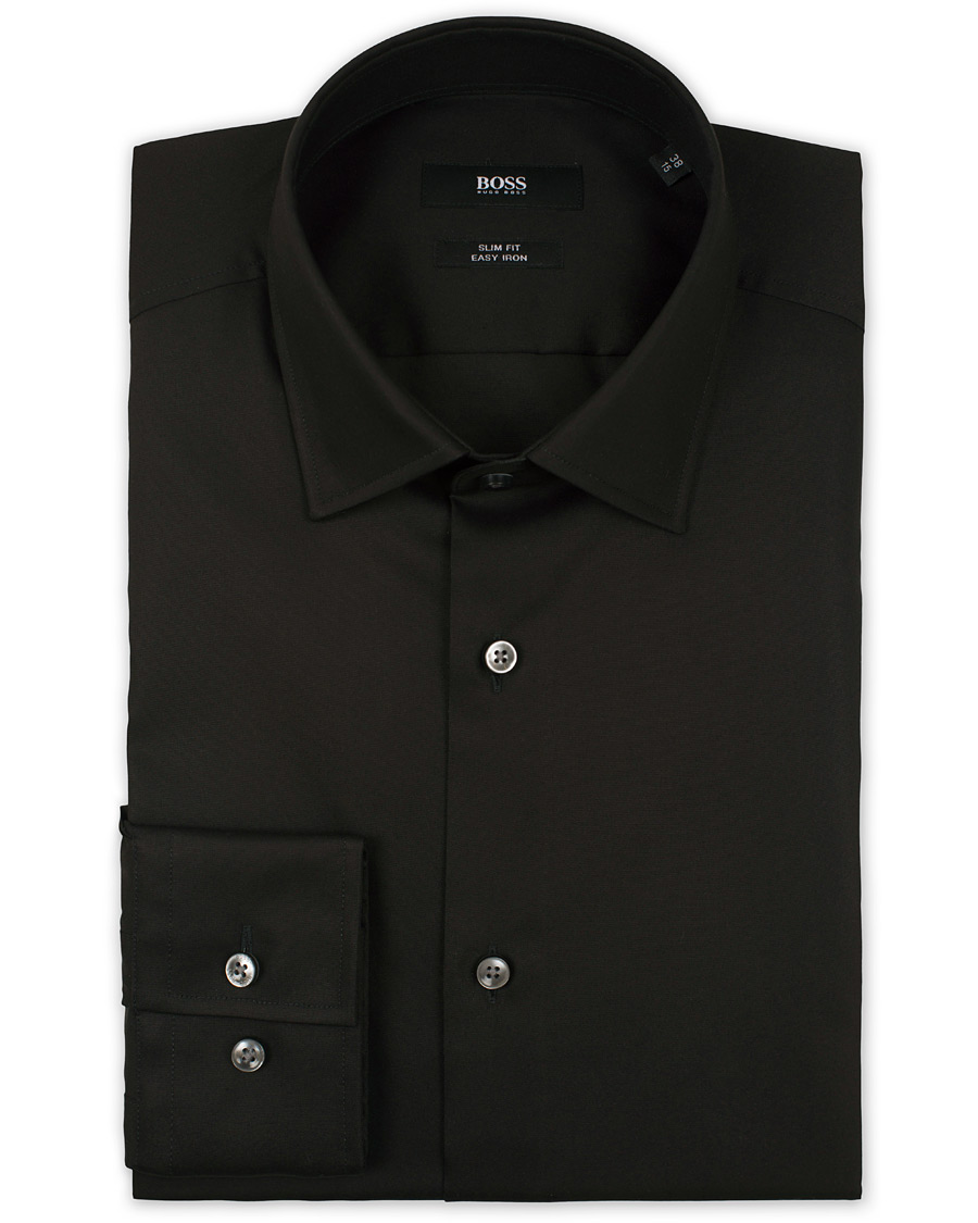 Boss Jenno Slim Fit Shirt Black Hos