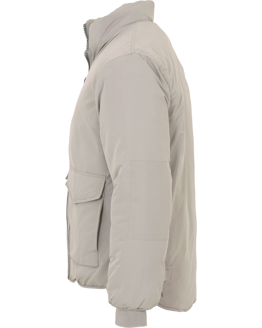 Our Legacy Puffed Funnel Jacket Silver Bullet Hos