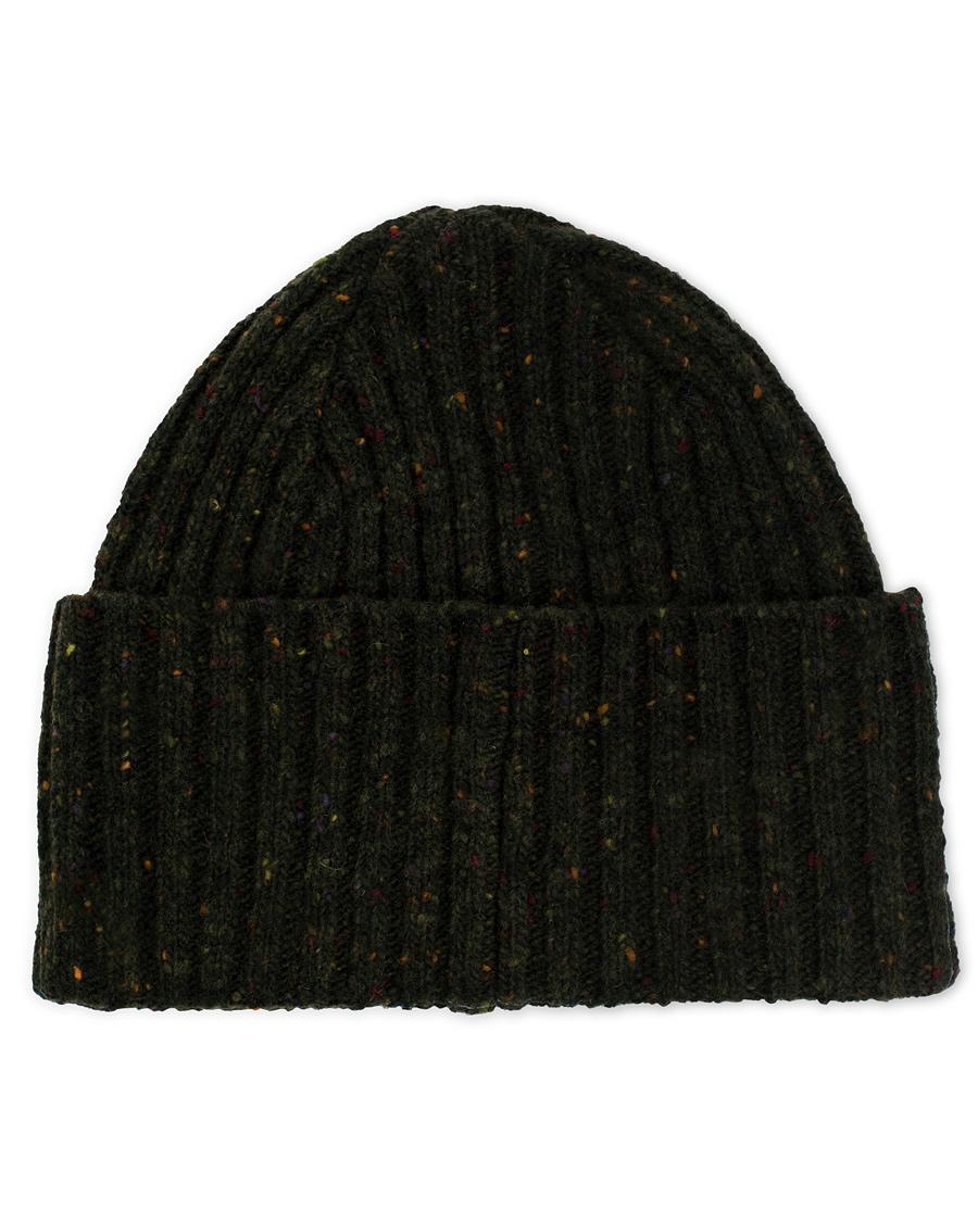 4d7480336e3 Drake s Donegal Merino Wool Hat Dark Green hos CareOfCarl.dk