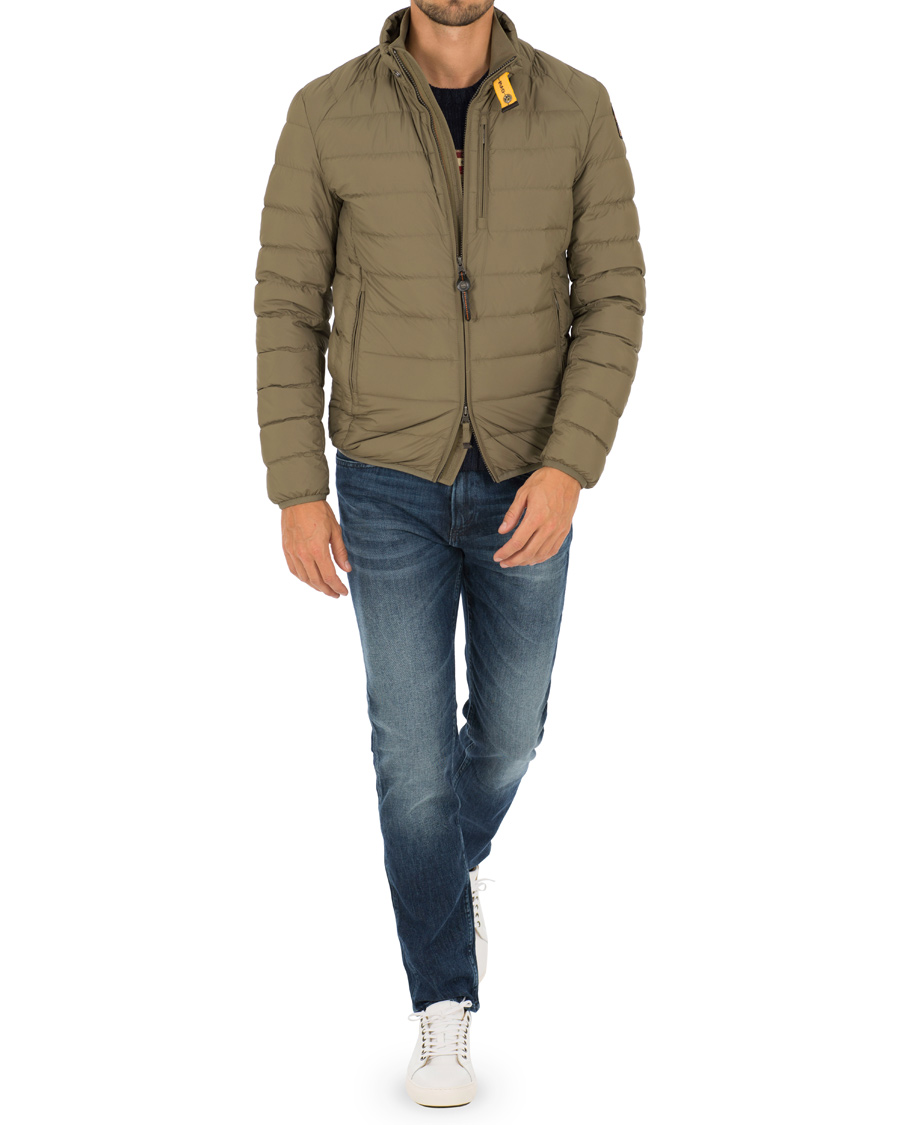 parajumpers ugo super lightweight jacket army green