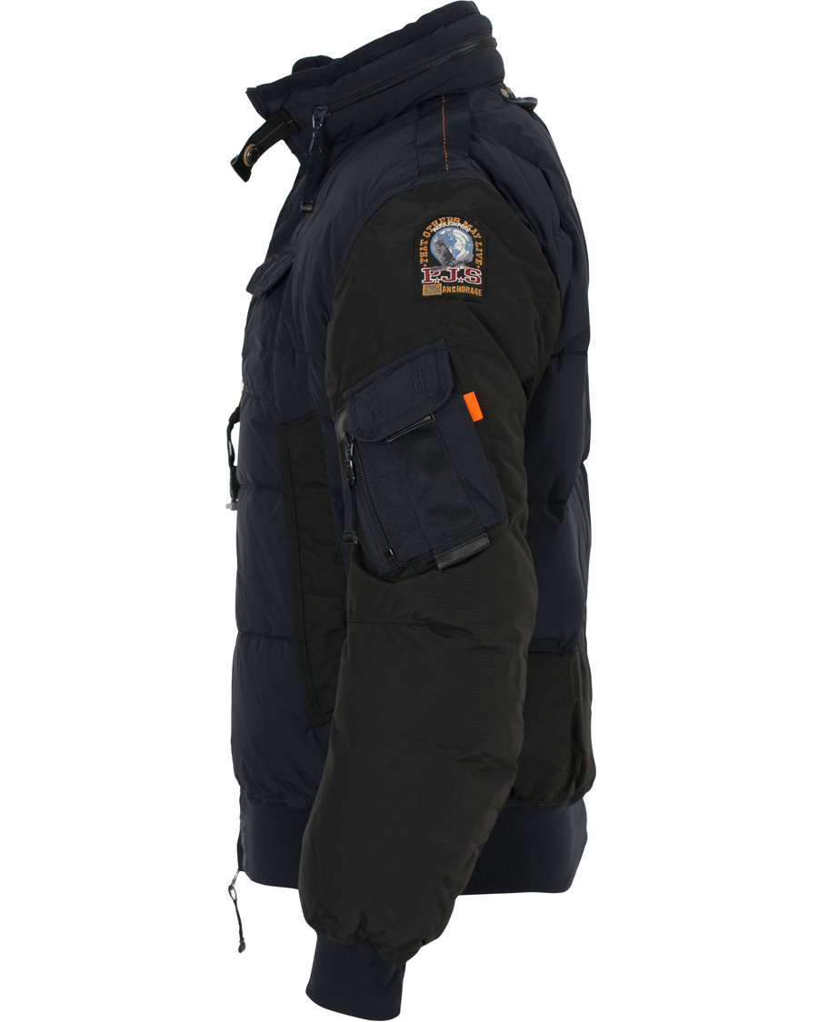 parajumpers mosquito highfill power jacket blue black