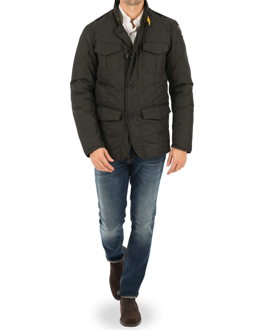 parajumpers harrison rugged field jacket bush