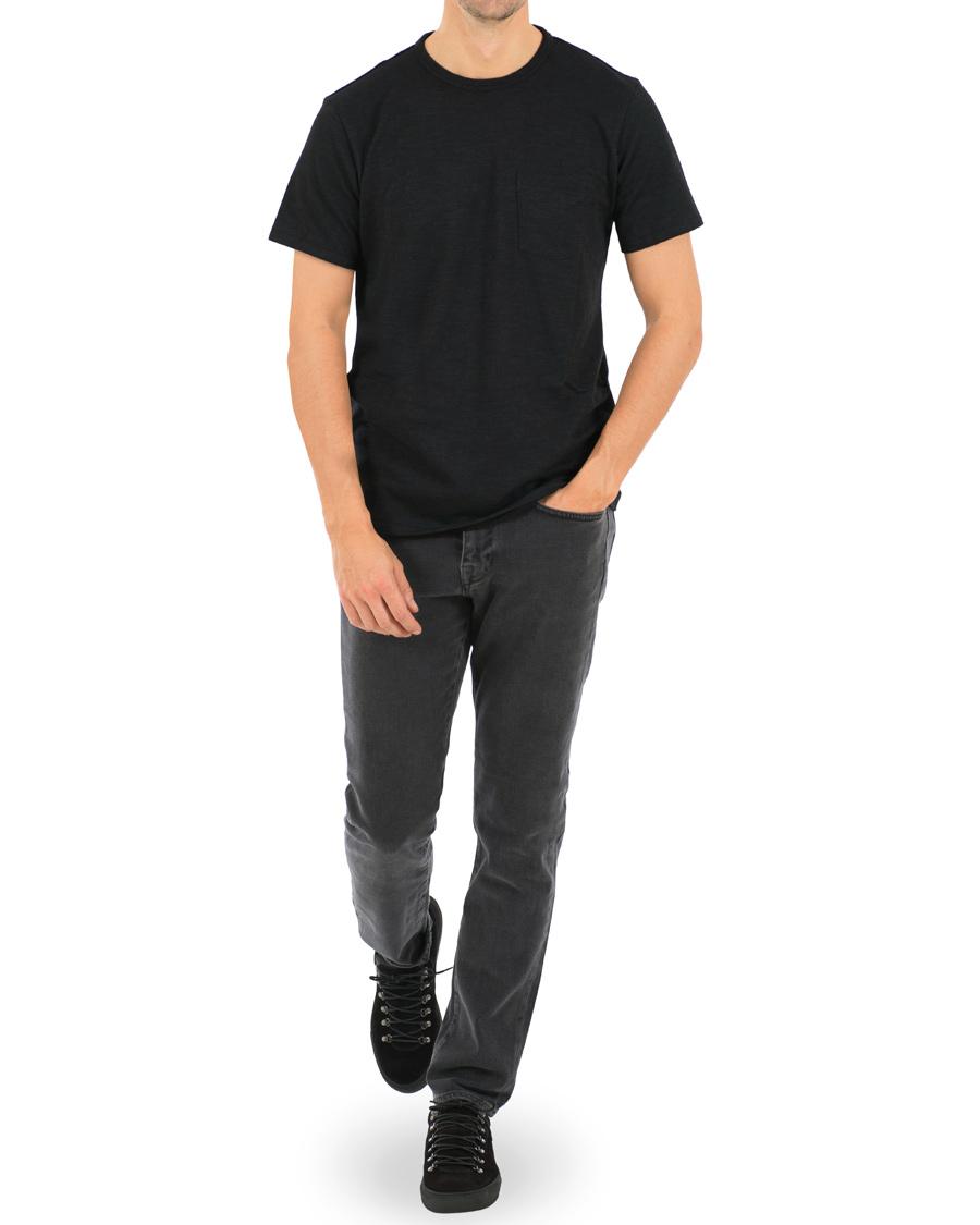 Rag bone pocket t shirt black hos for Rag bone shirt