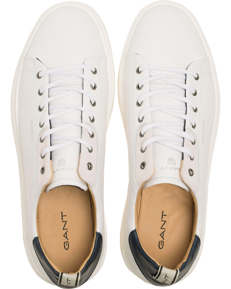 gant beacon sneaker white calf hos. Black Bedroom Furniture Sets. Home Design Ideas