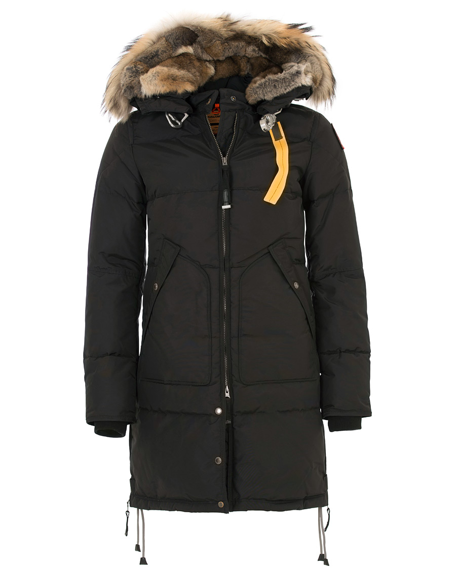 Parajumpers Long Bear Masterpiece Jacket Black Hos