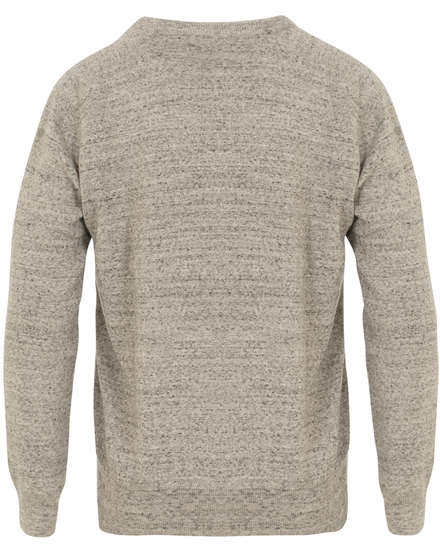 e285f0e7333f Iceberg Crew Knitted Sweatshirt Neck Polo Heath Ralph Lauren Grey TaOYUTnx