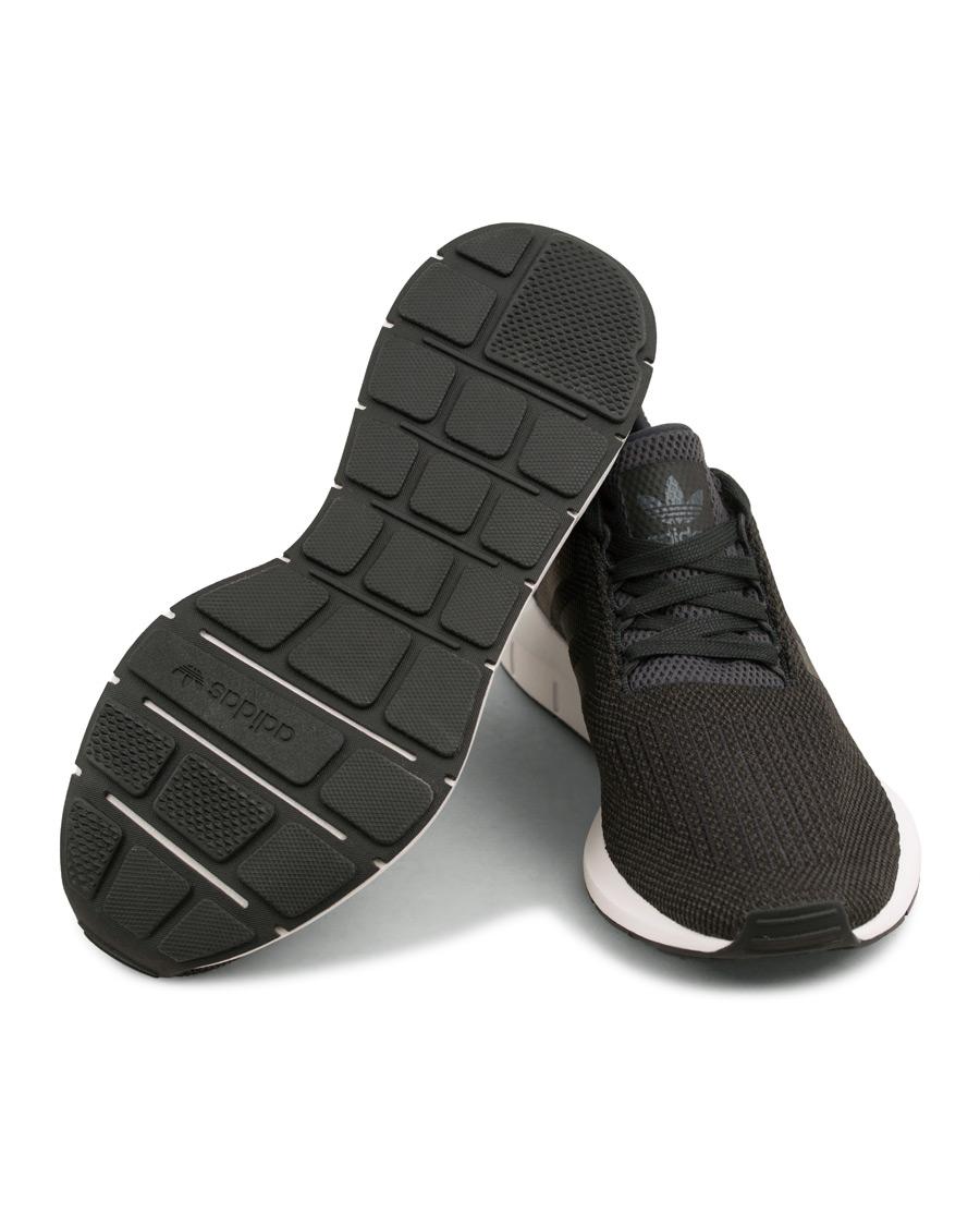 adidas originals swift running sneaker black hos