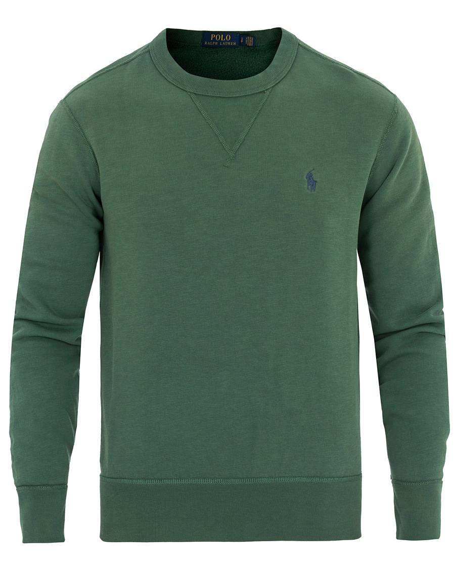 polo ralph lauren crew neck sweatshirt eucalyptus green. Black Bedroom Furniture Sets. Home Design Ideas