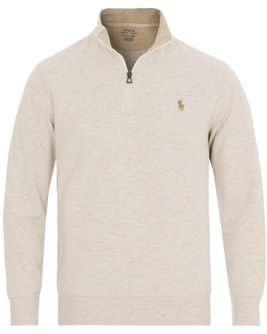 Polo Ralph Lauren Half Zip Sweatshirt American Heather hos CareOf 6fe2ba9482