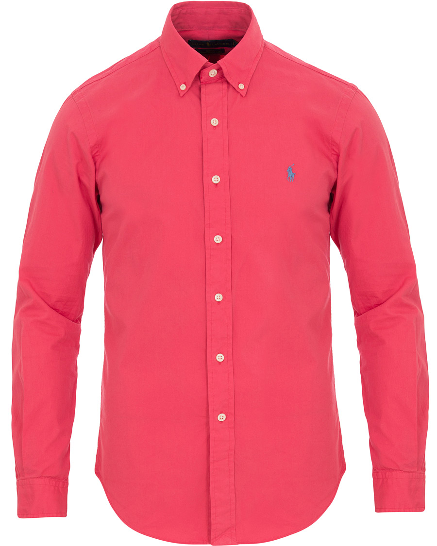 Polo Ralph Lauren Slim Fit Chino Button Down Shirt Sunset