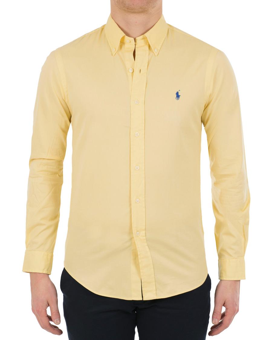 Polo ralph lauren slim fit chino button down shirt empire for Polo ralph lauren casual button down shirts