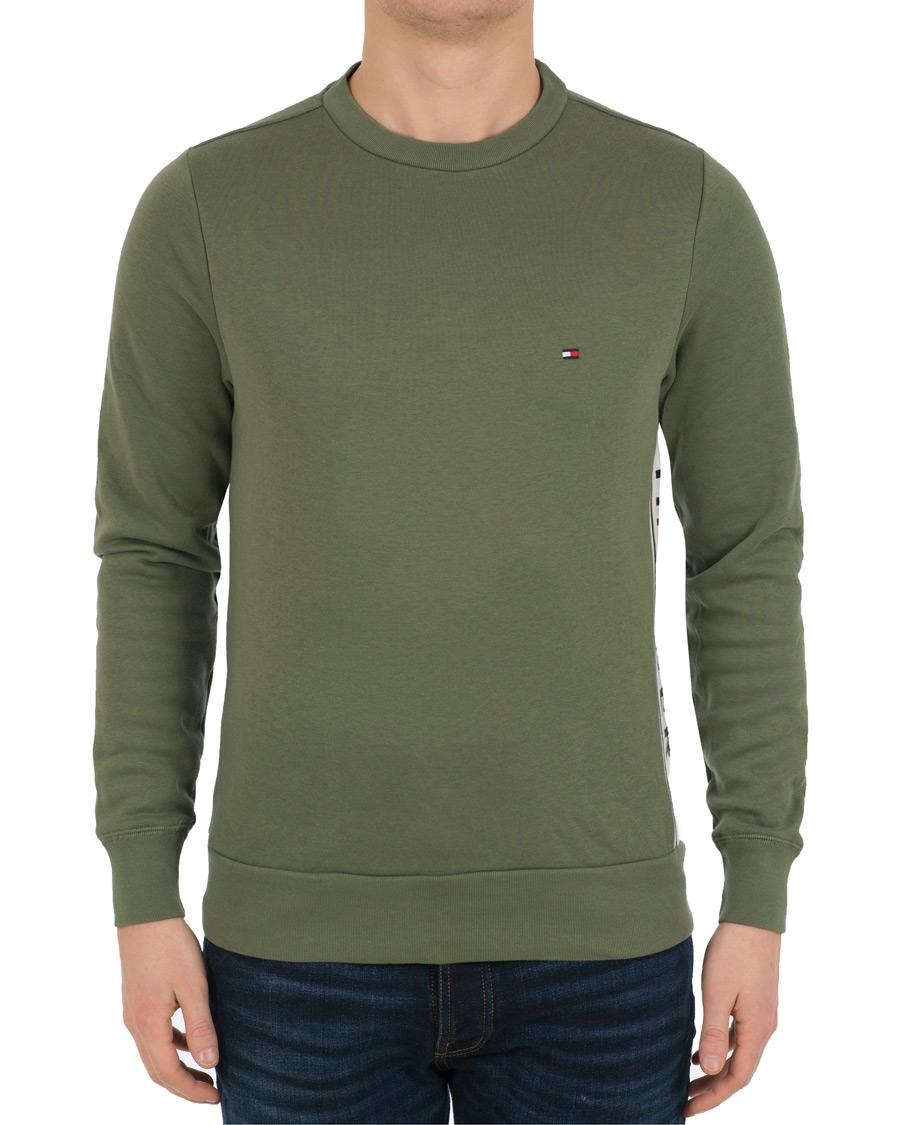 tommy hilfiger logo sweatshirt four leaf clover hos. Black Bedroom Furniture Sets. Home Design Ideas