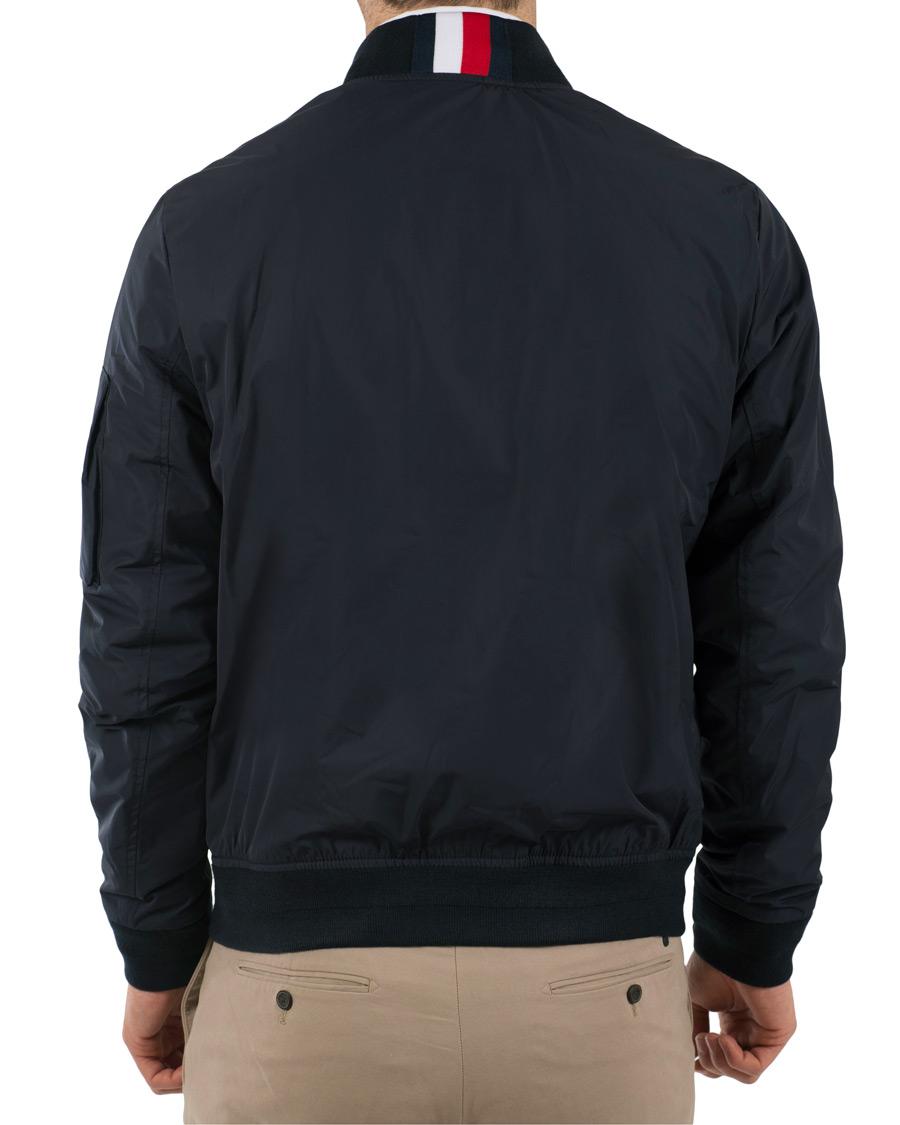 tommy hilfiger tape bomber jacket sky captain hos. Black Bedroom Furniture Sets. Home Design Ideas