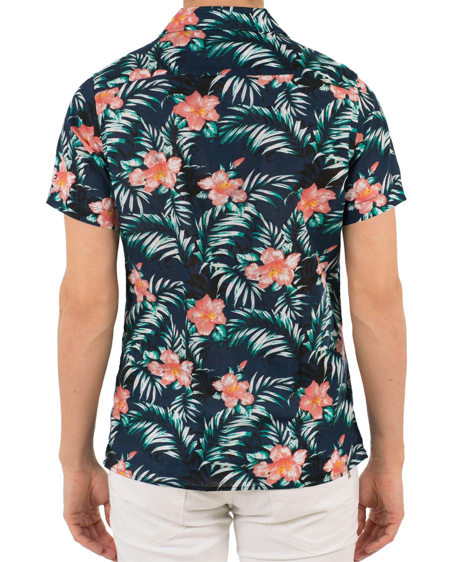 tommy hilfiger slim fit printed hawaiian short sleeve