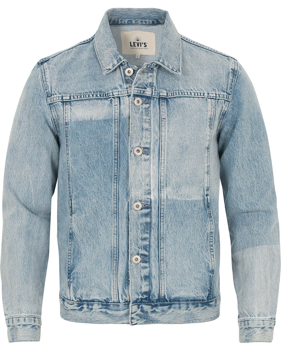 Levi 39 s made crafted type iv trucker jacket sponge for Levi s made and crafted