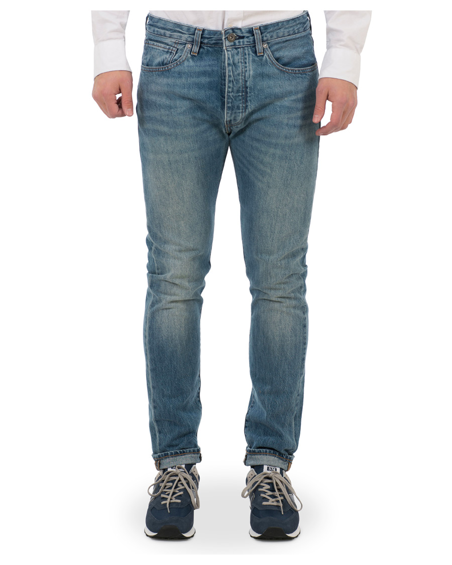 Levi 39 s made crafted studio tapered jeans cloud break hos for Levi s made and crafted