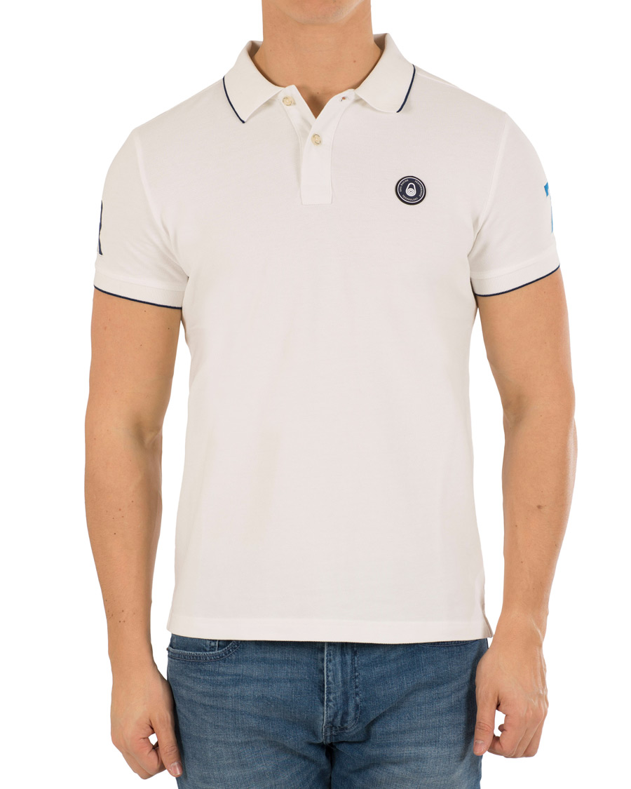 Sail Racing GRINDER - Polo - off white Xde55