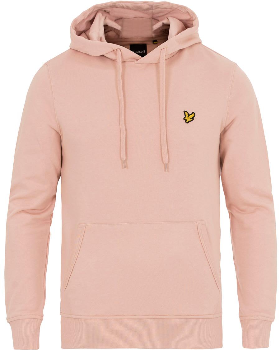 Pink pullover hoodie