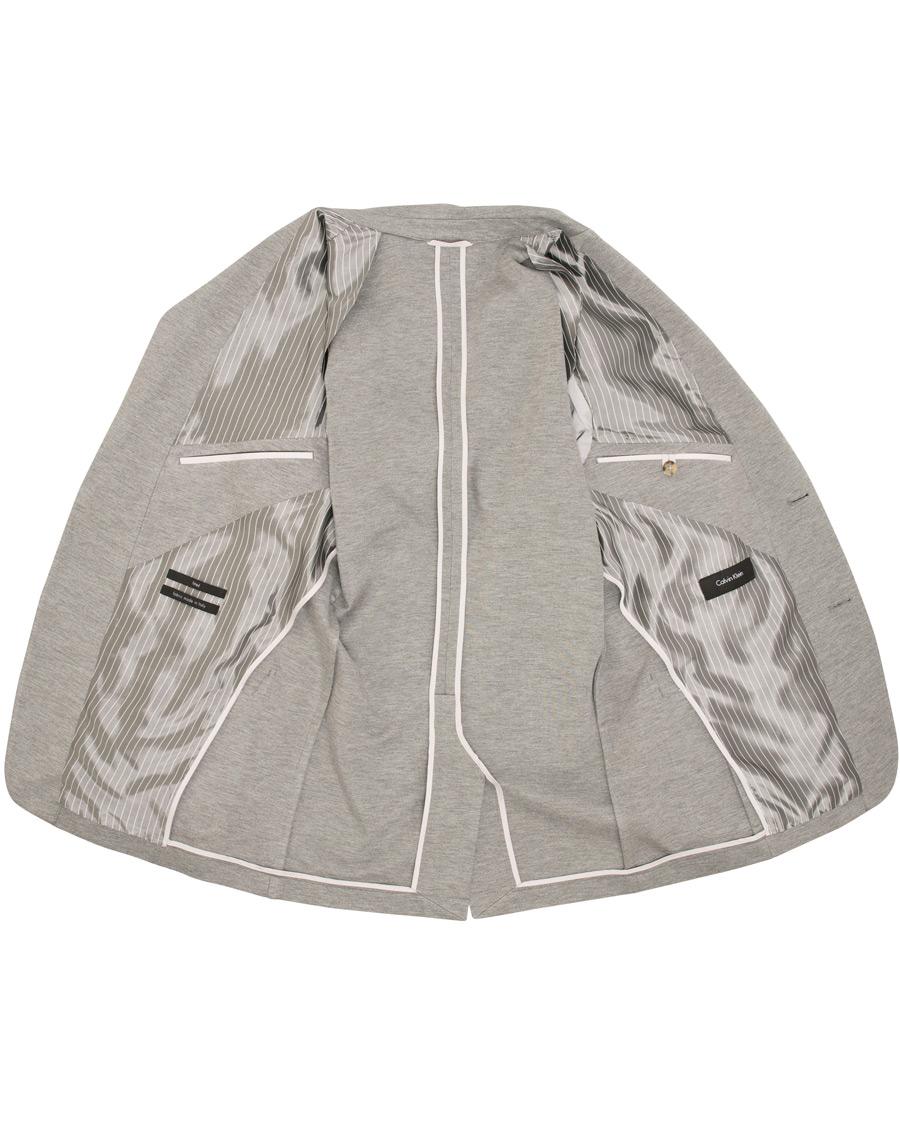 calvin klein balen jersey punto milano blazer lunar rock. Black Bedroom Furniture Sets. Home Design Ideas