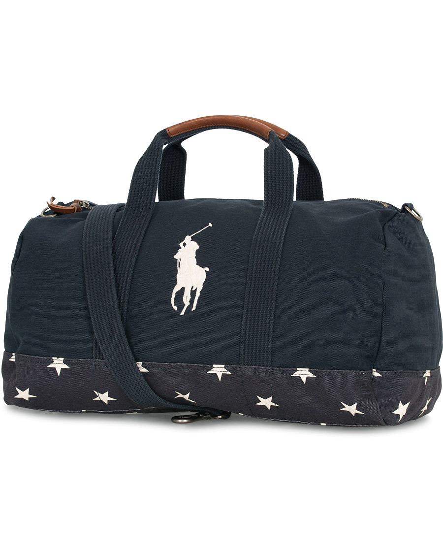 572836d74bda ... promo code for polo ralph lauren canvas big pony dufflebag navy 49f22  e47dc
