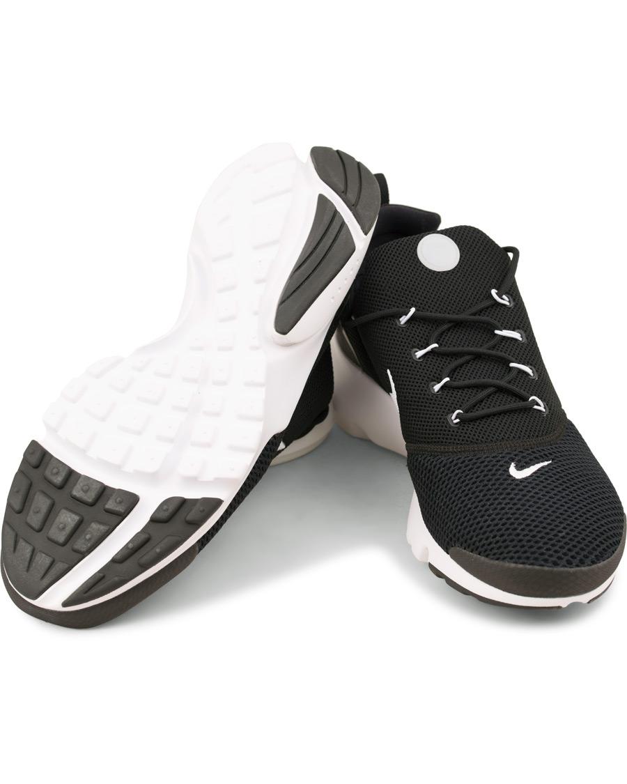 nike presto flyknit running sneaker black hos careofcarlcom