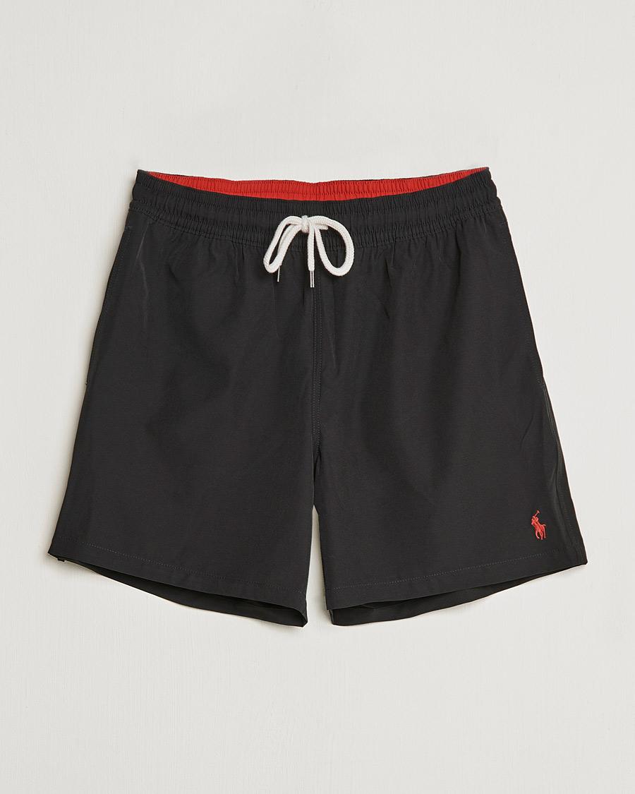 polo ralph lauren traveler boxer swimshorts polo black hos careof. Black Bedroom Furniture Sets. Home Design Ideas