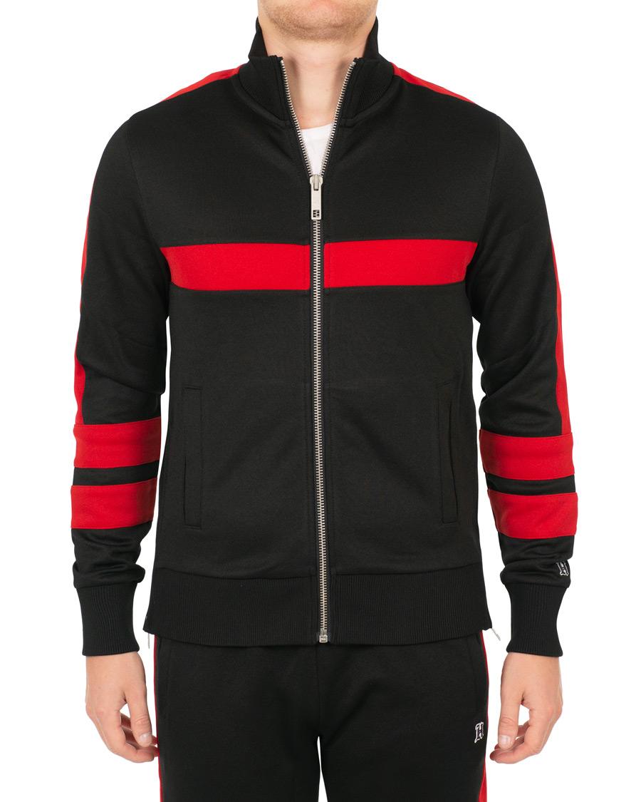 tommy hilfiger lewis hamilton logo track jacket jet black. Black Bedroom Furniture Sets. Home Design Ideas