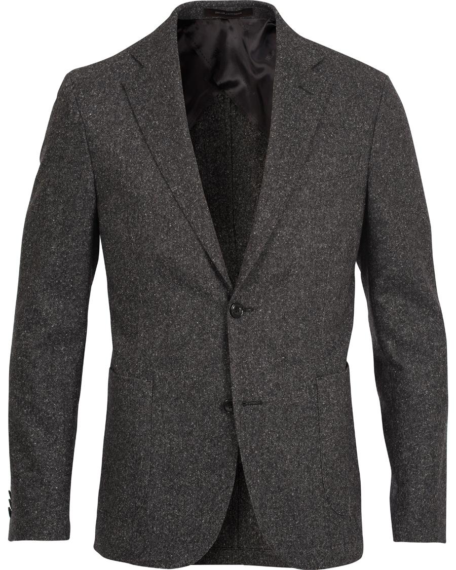 Oscar Jacobson Einar Lambswool Suit Grey hos CareOfCarl.com