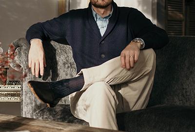 1 produkt, 3 outfits: Cardigan med sjalskrave