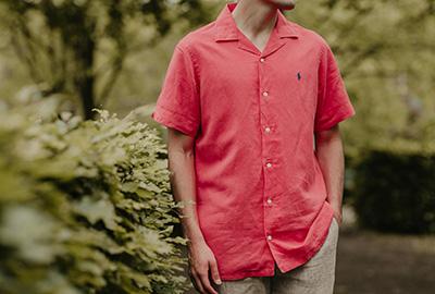 Vaaleanpunainen on miesten väri