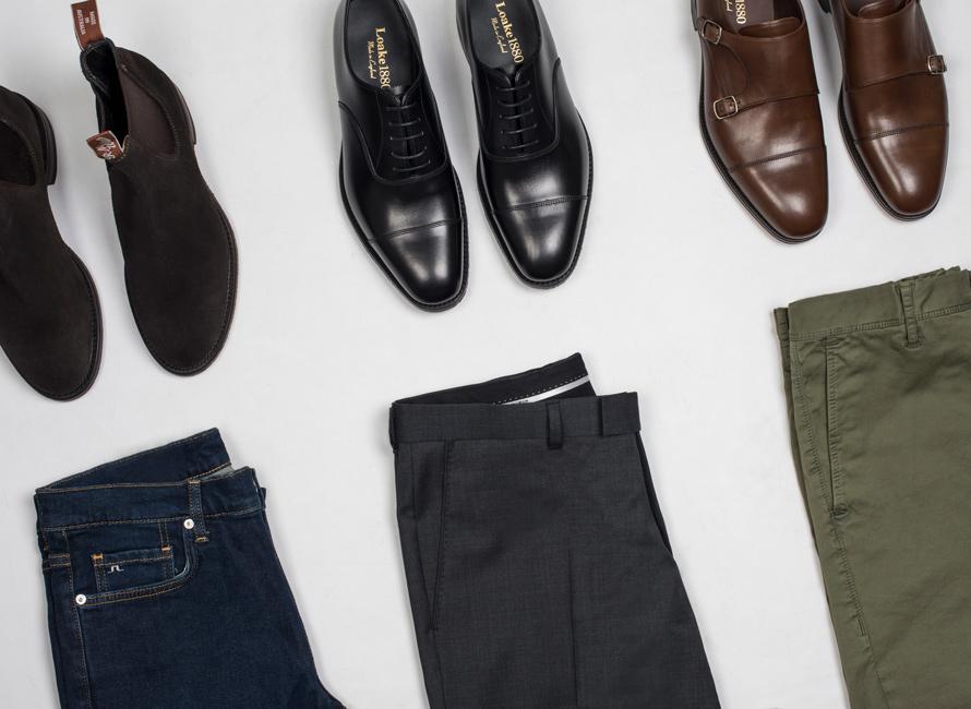 Stiltips  Att matcha skor och byxor  f02d8f46a24b3