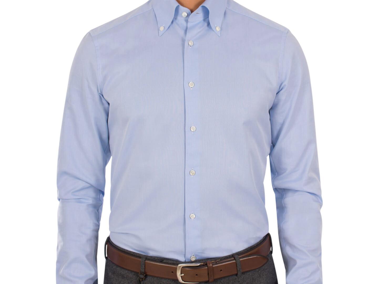 Stilskolan  Hur ska en skjorta sitta  c7291f285e21a