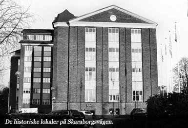 Wiskadal - De historiske lokaler på Skaraborgsvägen