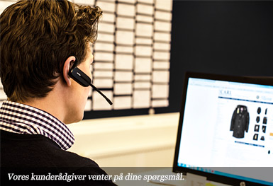 Vores kunderådgiver venter på dine spørgsmål